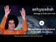 Embedded thumbnail for Sathyopadesh bag.6: Rama Mematahkan Shiva Dhanush