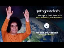 Embedded thumbnail for Sathyopadesh bag. 2: Apa Itu Pendidikan?