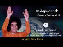 Embedded thumbnail for Sathyopadesh bag.4: Hormati Orang Tua