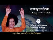 Embedded thumbnail for Sathyopadesh bag. 3: Perbedaan antara Rama dan Ravana